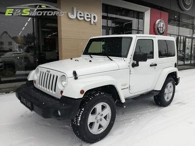 gebraucht Jeep Wrangler Sahara 2,8 CRD Aut. inkl. Softtop SUV / Geländewagen,
