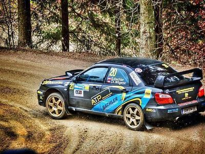 gebraucht Subaru Impreza WRX STI Gruppe A Rallyeauto Limousine