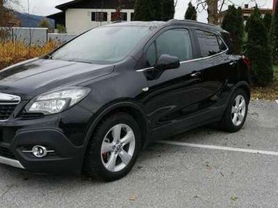 gebraucht Opel Mokka 1,7 CDTI Start/Stop Allrad Bi-Xenon Navigation