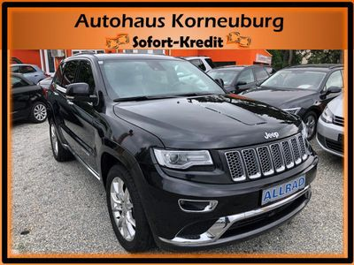brugt Jeep Grand Cherokee 3,0 V6 CRD Summit*MEGAVOLL!!!* SUV / Geländewagen,