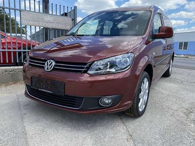 gebraucht VW Caddy Kombi Maxi Highline 2,0 TDI 4MOTION Kombi / Family Van