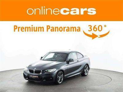 gebraucht BMW 220 d xDrive Coupe M Sport Aut. XENON LEDER NAVI HARMA