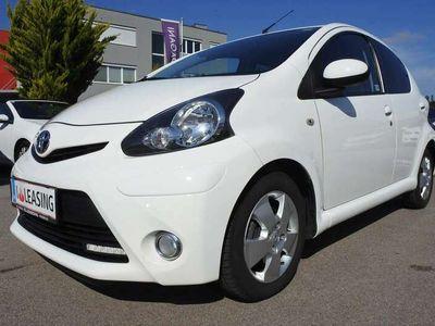 gebraucht Toyota Aygo 1,0 VVT-i Lounge M/M+LEDER+WIPPEN+ÖAMTC+