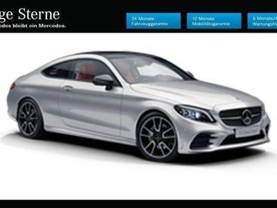 gebraucht Mercedes C220 d Coupe Aut.