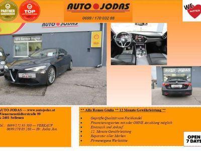 gebraucht Alfa Romeo Giulia 2,0 200 AT RWD**12 Monate Gewährleistung** Limousine