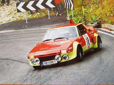 gebraucht Fiat Coupé X1/9 Abarth Sportwagen /