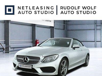 gebraucht Mercedes C200 Cabrio AMG+Komfortp+LED-ILS+Navi+18''+PTS Klima