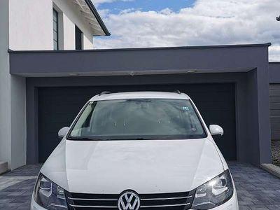 gebraucht VW Sharan Karat BMT 2,0 TDI DSG Kombi / Family Van