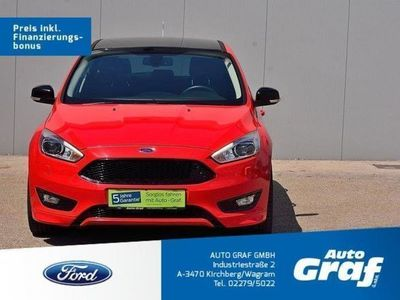 brugt Ford Focus ST-LINE Red Edition 1,5 Ecoboost