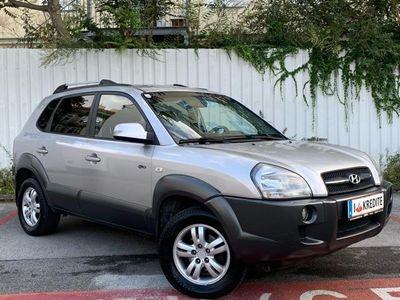 gebraucht Hyundai Tucson 2,0 Style CRDi 4WD Aut.**SOFORT KREDIT** LEDER,PDC
