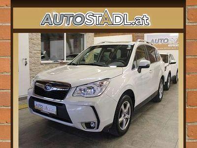 gebraucht Subaru Forester 2,0D Exclusive/Leder/Navi/Sitzhzg./Alu... SUV / Geländewagen