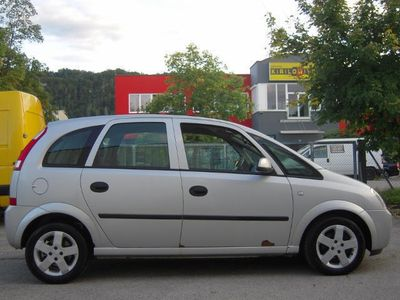 gebraucht Opel Meriva 1,7 Enjoy DTI 1-Hand Klima SR-ALU Sehr Sparsam