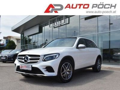 gebraucht Mercedes GLC220 d 4M Aut. AMG-Line/Navi/Pano/LED/Burmester/Ahk.