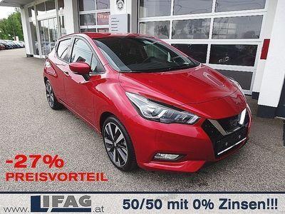 gebraucht Nissan Micra 0,9 IG-T 90 Tekna *-27% Preisvorteil* Limousine,