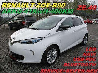 gebraucht Renault Zoe Zen R90 -ZE.40 mit großer 41KwH-Batterie 400KM Limousine,