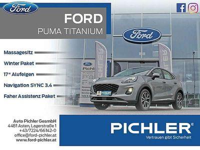 gebraucht Ford Puma Titanium 1,0 EcoBoost 125PS WOW AKTION