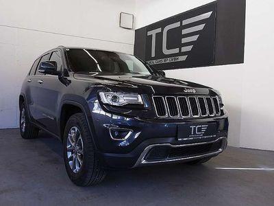 brugt Jeep Grand Cherokee 3,0 V6 CRD Limited, AHK, Keyless Go, ...