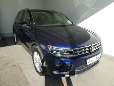 gebraucht VW Tiguan Highline TDI SCR 4MOTION DSG