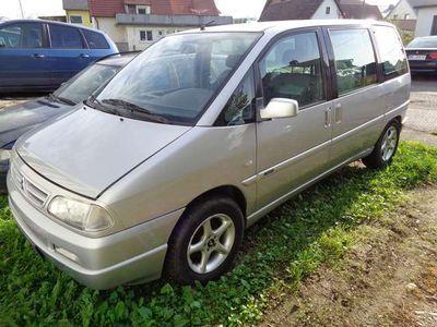 gebraucht Citroën Evasion 2,0 HDI, Klima, Standheizung, AHK, ALU Kombi / Family Van