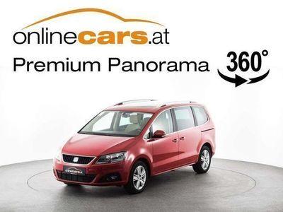 used Seat Alhambra Style 2,0 TDI DSG 7-SITZER OPENSKY RFK... Kombi / Family Van,