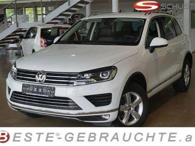 gebraucht VW Touareg TDI 3.0 4motion Navi AHK Luftfederung Bi-X