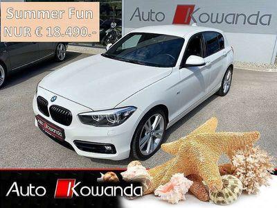 gebraucht BMW 116 1er-Reihe d 5tg. Sport -Sondermodell *Werksgarantie* Limousine