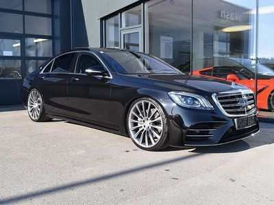 gebraucht Mercedes S400 d lang 4MATIC Aut. *AMG,Massage,LED*