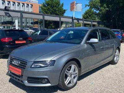 gebraucht Audi A4 Avant NAVI Serviceheft S-Line Sportsitze