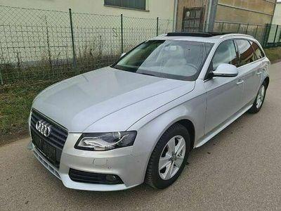 gebraucht Audi A4 Avant 2,0 TDI DPF Aut.1.BESITZ*PANO*NAVI*XENON*ELEKTR.SITZE*SHZ* Kombi / Family Van