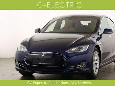 gebraucht Tesla Model S 70D Allrad, erweiterte Garantie, Premium, Schiebedach, helles Interieur Limousine