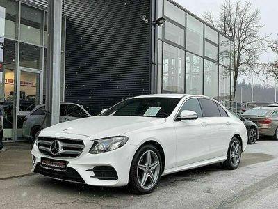gebraucht Mercedes E220 4MATIC Limousine AMG Line Aut., LED, Kamera, 18