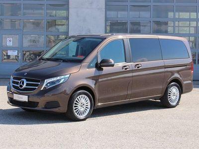 gebraucht Mercedes V220 V-Klassed 4MATIC Lang 594050 Kombi / Family Van,