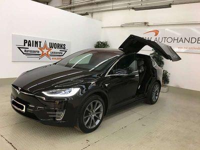 gebraucht Tesla Model X 90D FSD AP2 Free SUC! Noch 4 Jahre Vollgarantie!! SUV / Geländewagen