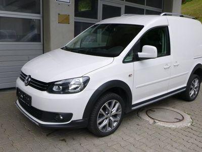 gebraucht VW Caddy CrossKastenwagen TDI 4MOTION