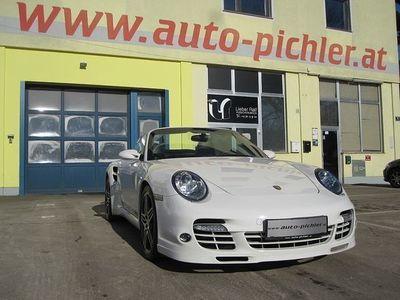 "gebraucht Porsche 911 Turbo Cabriolet Cabrio Allrad Tiptronic ""Top 63.000KM"" / Roadster"