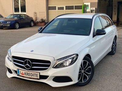 gebraucht Mercedes C200 T BlueTEC AMG Line Aut.- Euro 6 - Top Ausstattung