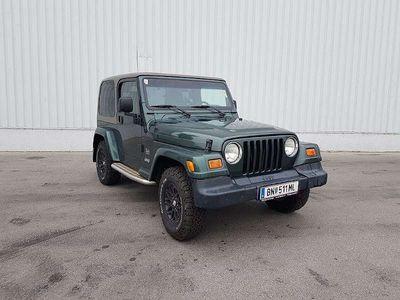 gebraucht Jeep Wrangler 4,0 Sahara Top in Top Aut. + Softtop / Cabrio