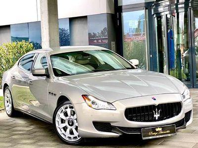 gebraucht Maserati Quattroporte GTS V8-BI-TURBO 530PS *SEHR SELTEN!!!* EXCLUSIVE *