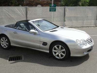 gebraucht Mercedes SL500 Roadster Aut.