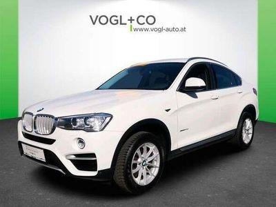 gebraucht BMW X4 xDRIVE 20d xLINE AUTOMATIK