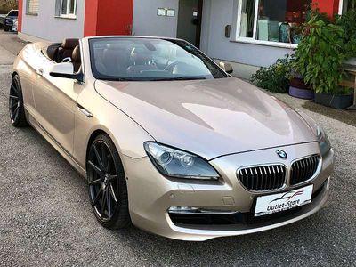 gebraucht BMW 640 Cabriolet 6er-Reihe i Cabrio Aut.*Top-Zustand*Garantie* / Roadster
