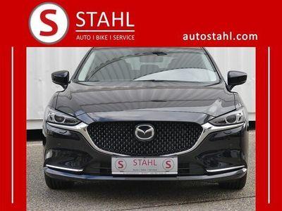 gebraucht Mazda 6 Sport Combi CD150 Revolution AUTO STAHL WIE