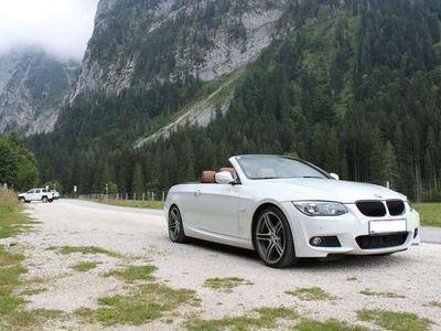 gebraucht BMW 330 Cabriolet 3er-Reihe d Cabrio (E93) Österreich-Paket Aut. M-Paket / Roadster