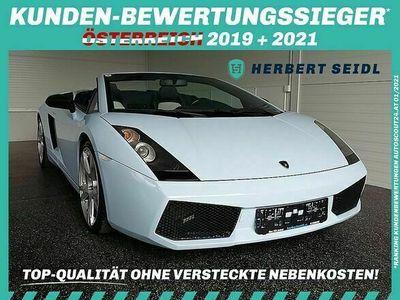 gebraucht Lamborghini Gallardo Spyder E-Gear **Ö-AUTO**