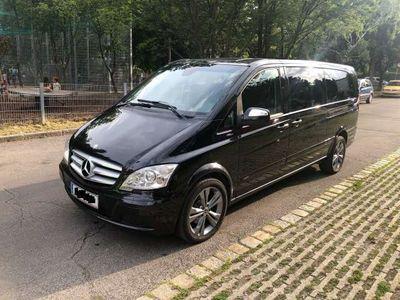 gebraucht Mercedes Viano 2.2 CDI Ambiente Extralang 8 Sitze Vollausstattung