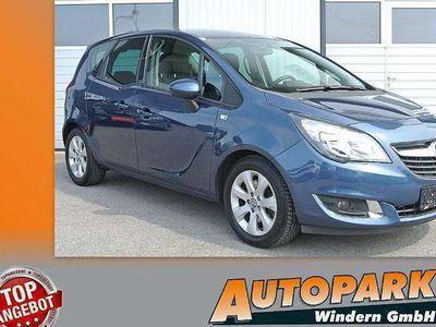 gebraucht Opel Meriva 1,4 Turbo Ecotec Cosmo Aut. * NAVI * Sitzheizung * PDC Kombi / Family Van