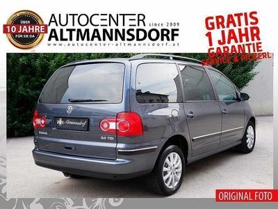 gebraucht VW Sharan Business 2,0TDI*MIT-GARANTIE*SOFORT-KRED... Kombi / Family Van,