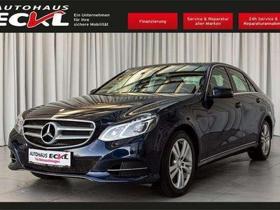gebraucht Mercedes E350 E-KlasseCDI BlueTEC 4MATIC Avantgarde Aut. Limousine