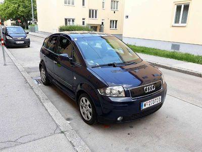 gebraucht Audi A2 1,4 TDI 75PS Diesel Klein-/ Kompaktwagen