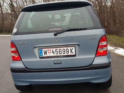 gebraucht Mercedes A170 A-Klassecdi 123.000km mit PICKEL Limousine